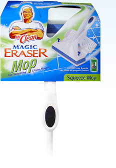 Household Tip of the Week – Mr. Clean's Magic Eraser Mop