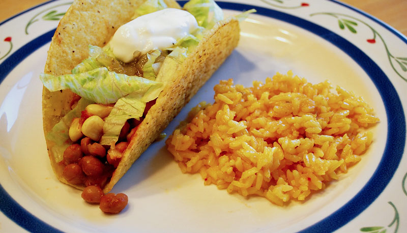 Pinquito Bean Tacos Recipe