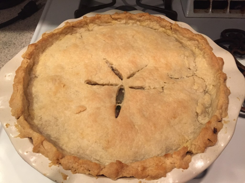 Beef Pie with Scratch Crust Recipe