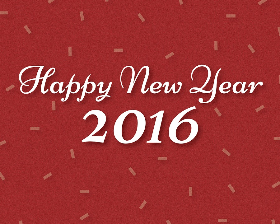 New Year New Me – Guidelines for 2016