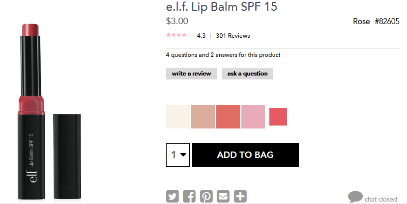 FREE Shipping with No Minimum at elf Cosmetics! (plus Favorites)